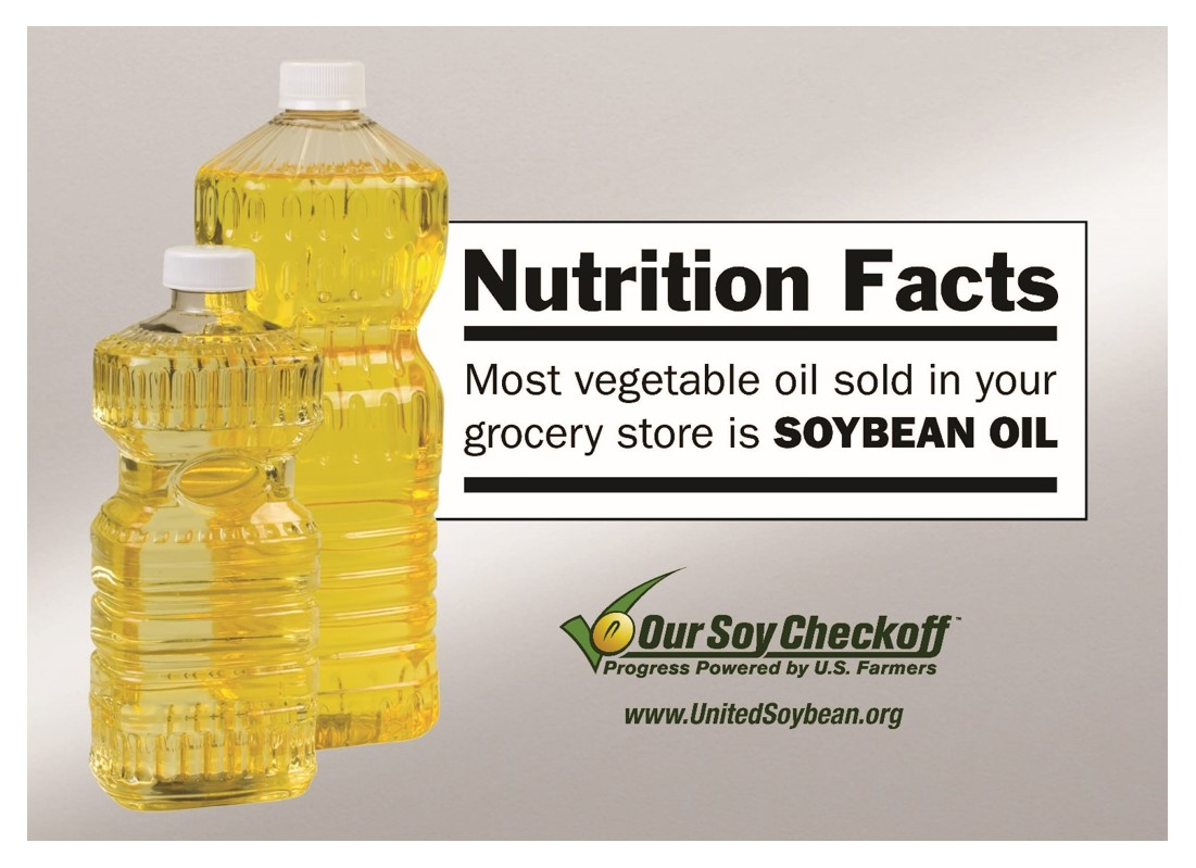By United Soybean Board - Vegetable Oil is Soybean Oil, CC BY 2.0, https://commons.wikimedia.org/w/index.php?curid=54523276